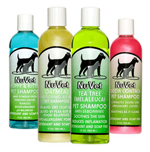 NuVet Shampoo For your pets dry skin